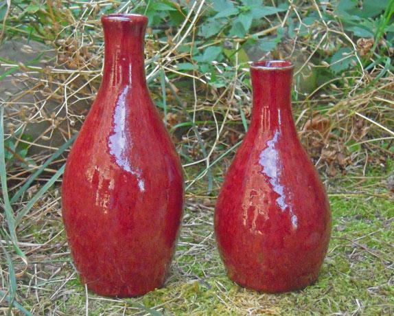 rouge de cuivre Poterie de Lucante