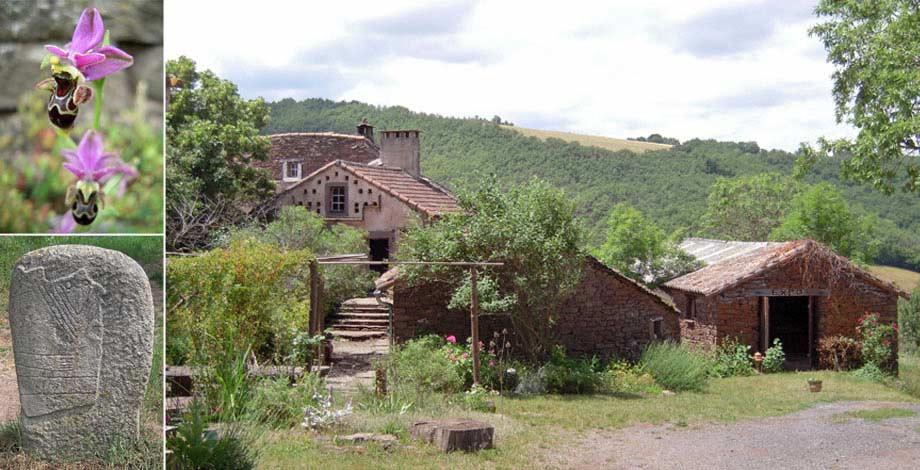Poterie de Lucante, photo du hameau de Lucante