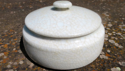 Boîte en porcelaine